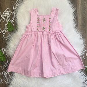 Lil Cactus Light Pink A Line Dress